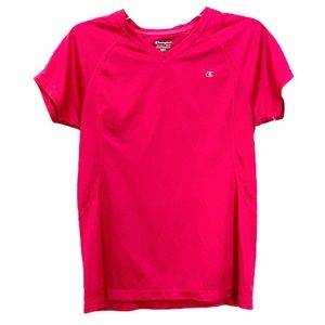 Champion Short Sleeve Workout T Shirt Pink Medium